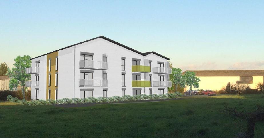 Deux bâtiments de 14 logements collectifs
